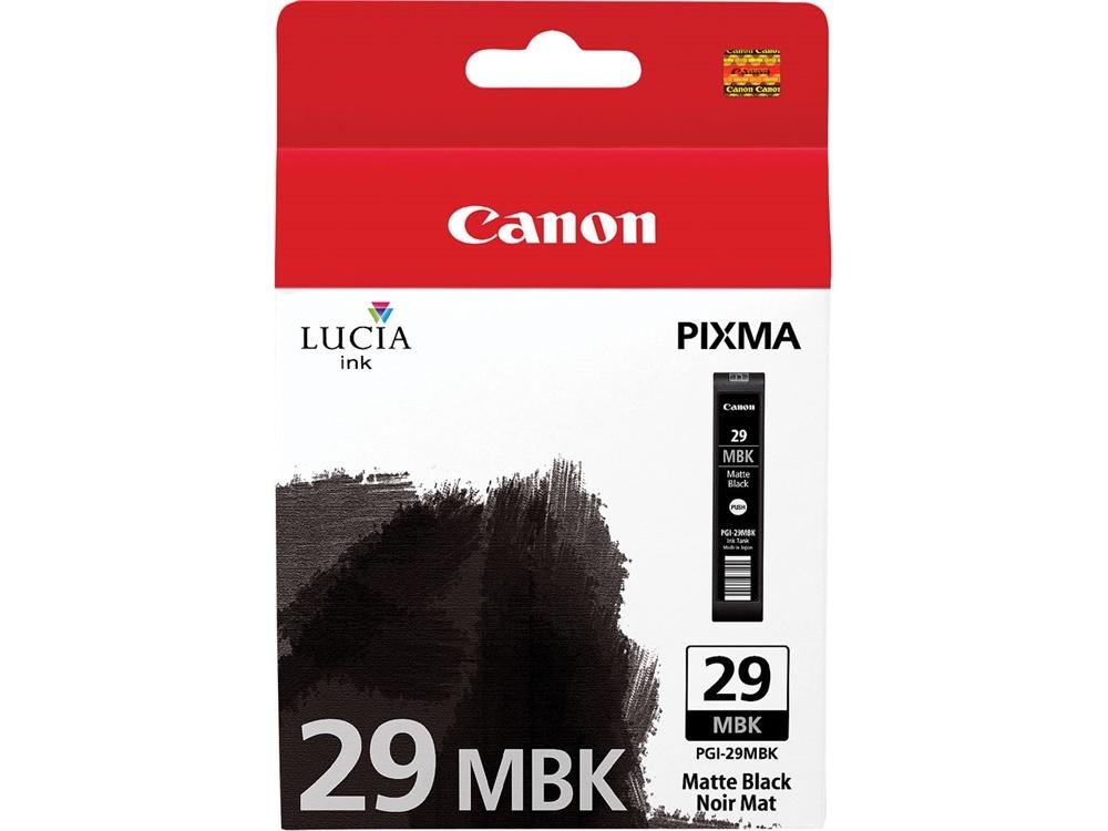 Canon PGI-29 LUCIA Matte Black Ink Cartridge