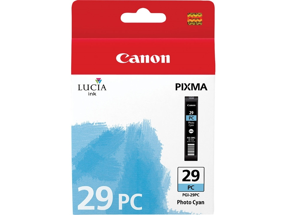 Canon PGI-29 LUCIA Photo Cyan Ink Cartridge