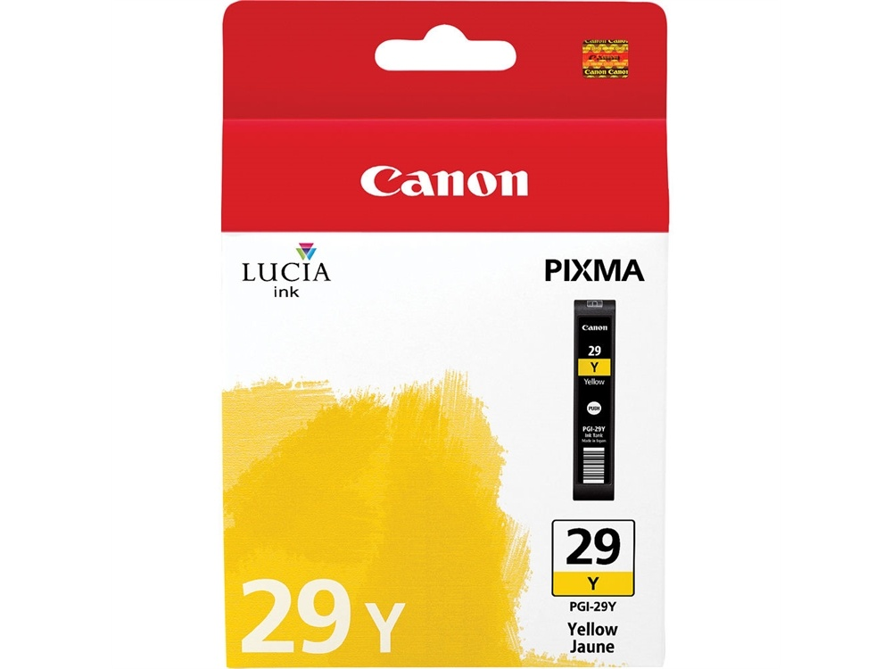 Canon PGI-29 LUCIA Yellow Ink Cartridge