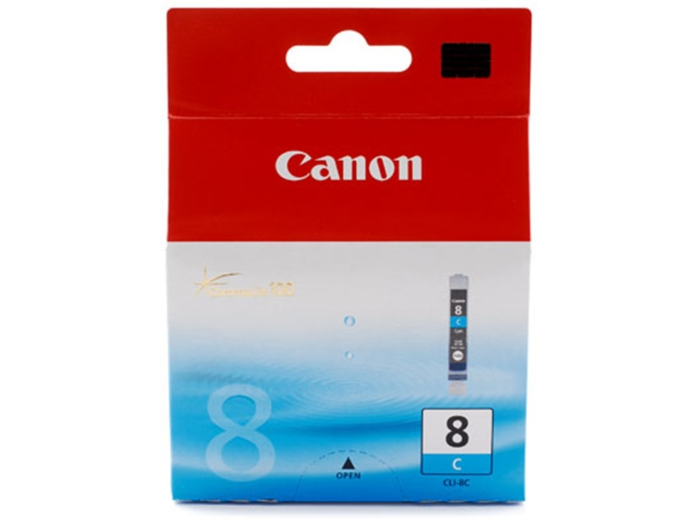 Canon CLI-8 ChromaLife100 Cyan Ink Cartridge