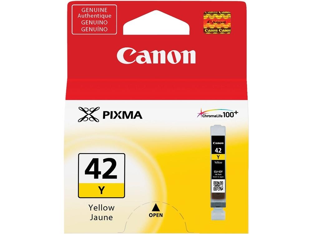 Canon CLI-42 ChromaLife100 Yellow Ink Cartridge