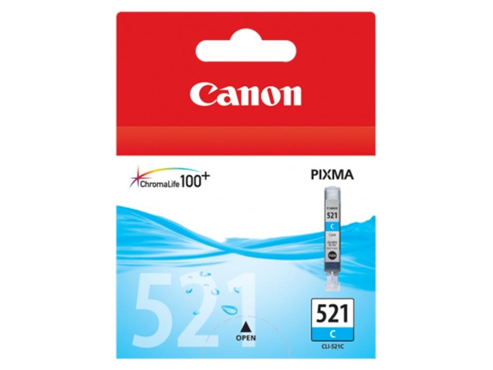Canon CLI-521 C ChromaLife100 Cyan Ink Cartridge