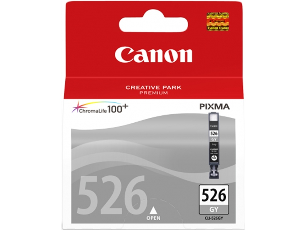 Canon CLI-526 ChromaLife100 Grey Ink Cartridge