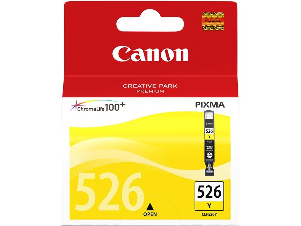 Canon CLI-526 ChromaLife100 Yellow Ink Cartridge