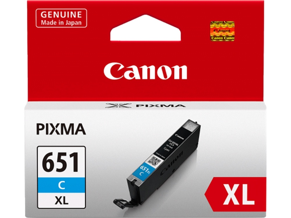 Canon CLI-651XL Extra Large Cyan Ink Cartridge