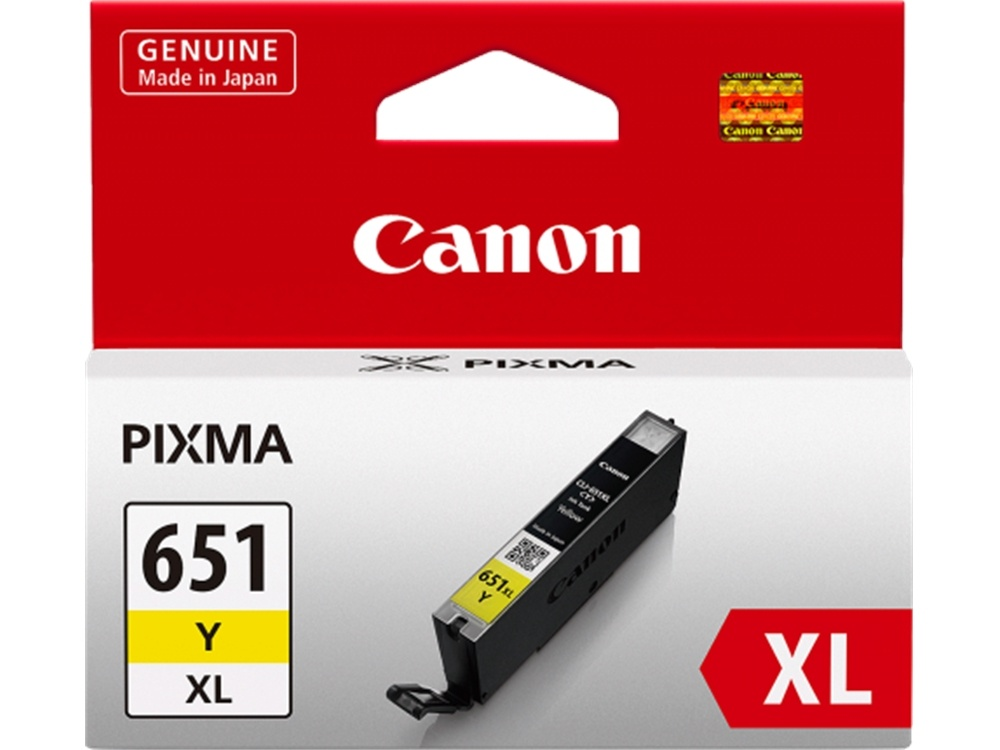 Canon CLI-651XL Extra Large Yellow Ink Cartridge