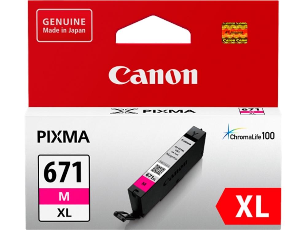 Canon CLI-671XL ChromaLife100 Extra Large Magenta Ink Cartridge