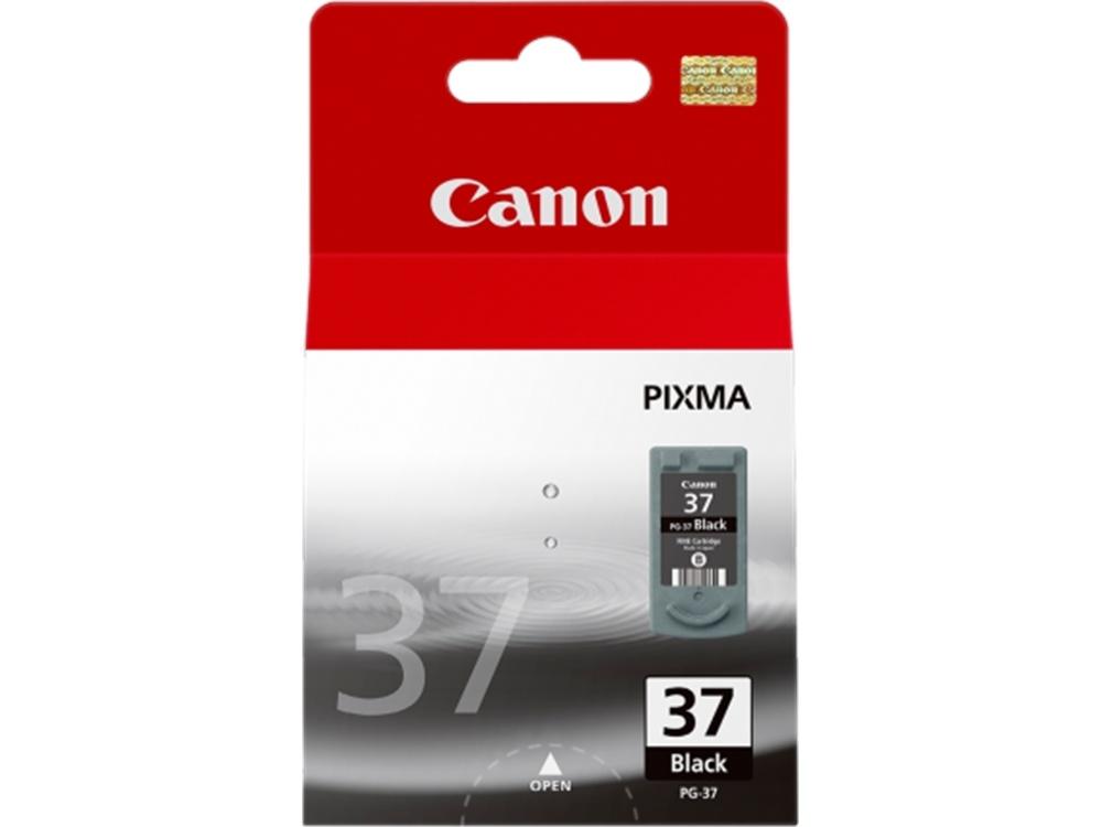 Canon PG-37 Fine Black Pigment Ink Cartridge
