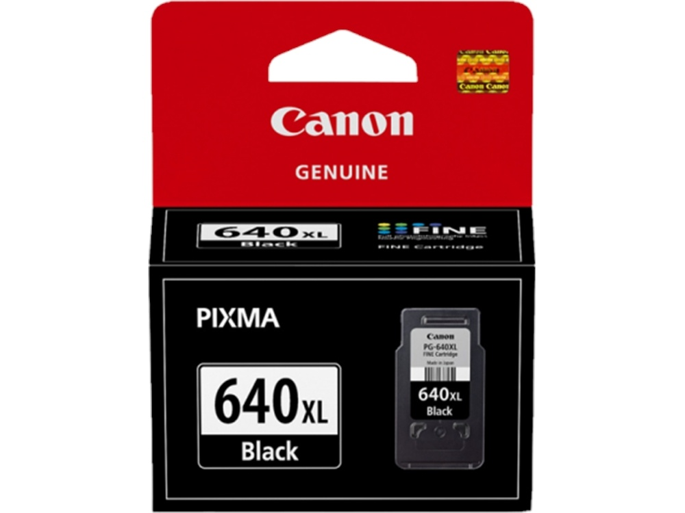 Canon PG-640XL Extra Large Fine Black Ink Cartridge