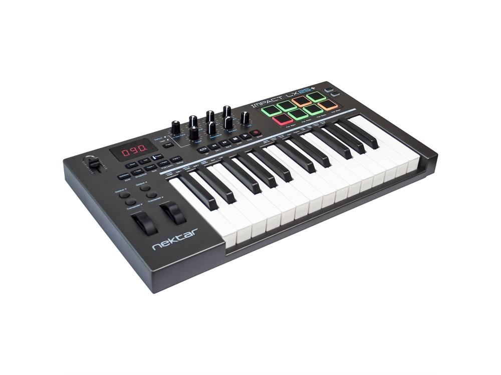 Nektar Technology Impact LX25+ USB MIDI Controller Keyboard