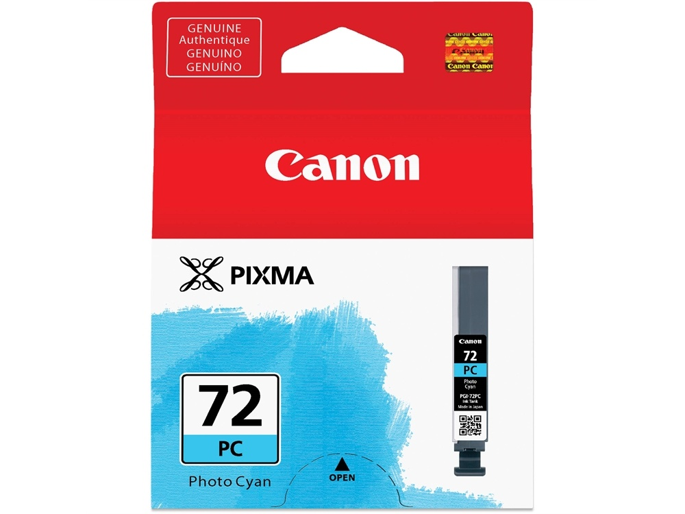 Canon LUCIA PGI-72 Photo Cyan Ink Cartridge