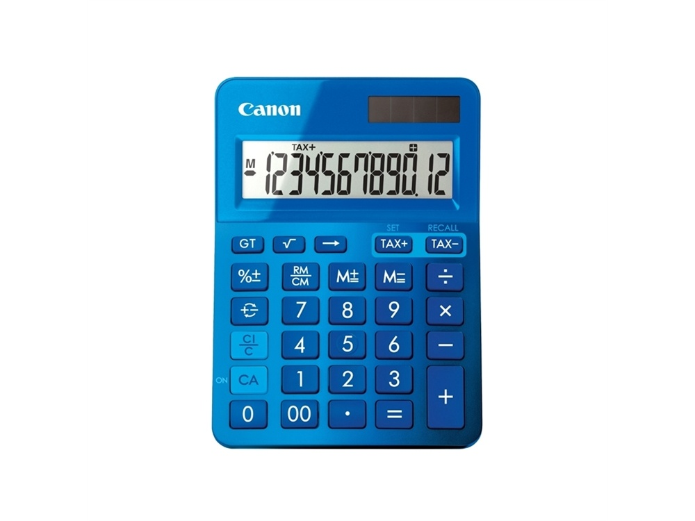 Canon Blue Desktop Tax Calculator
