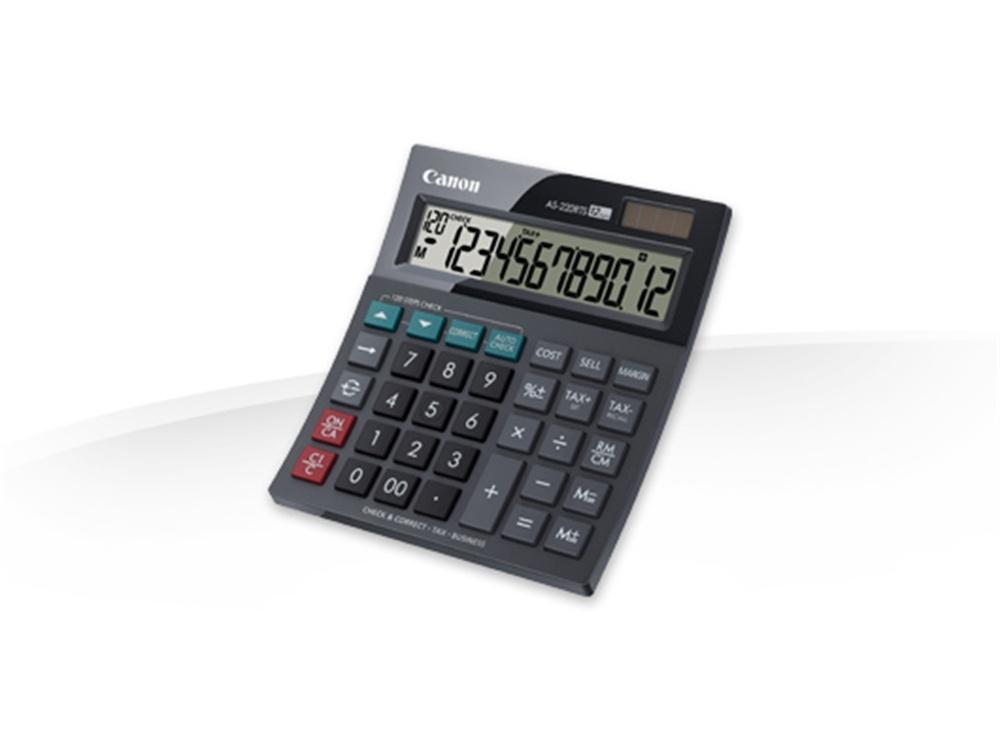 Canon Business Tax Calculator
