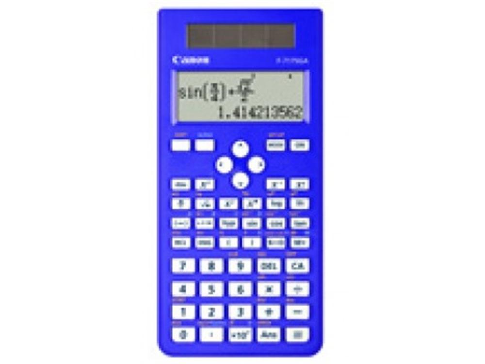 Canon F717SGA Scientific Calculator 242 Function (Blue)