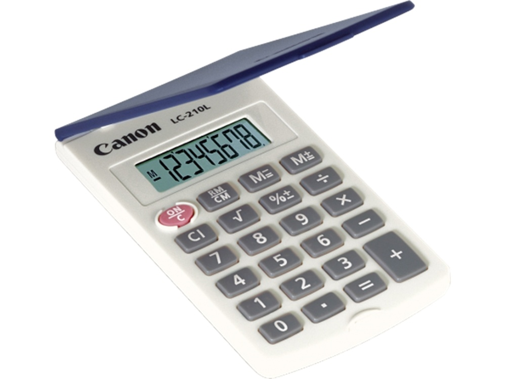 Canon LC210L 8 Digit Small Pocket Calculator