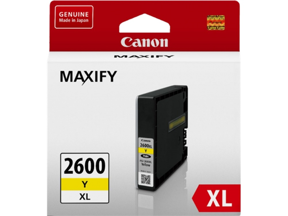 Canon PGI-2600 Extra Large Yelow Ink Cartridge