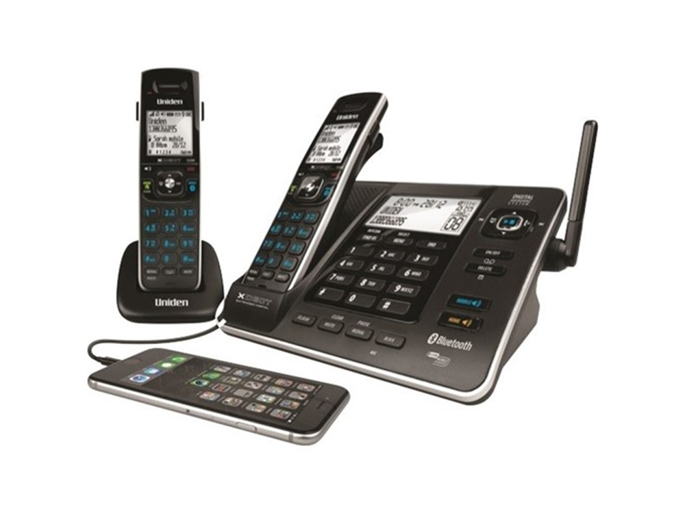 Uniden XDECT8355+1 Dual Mode Bluetooth Cordless Phone