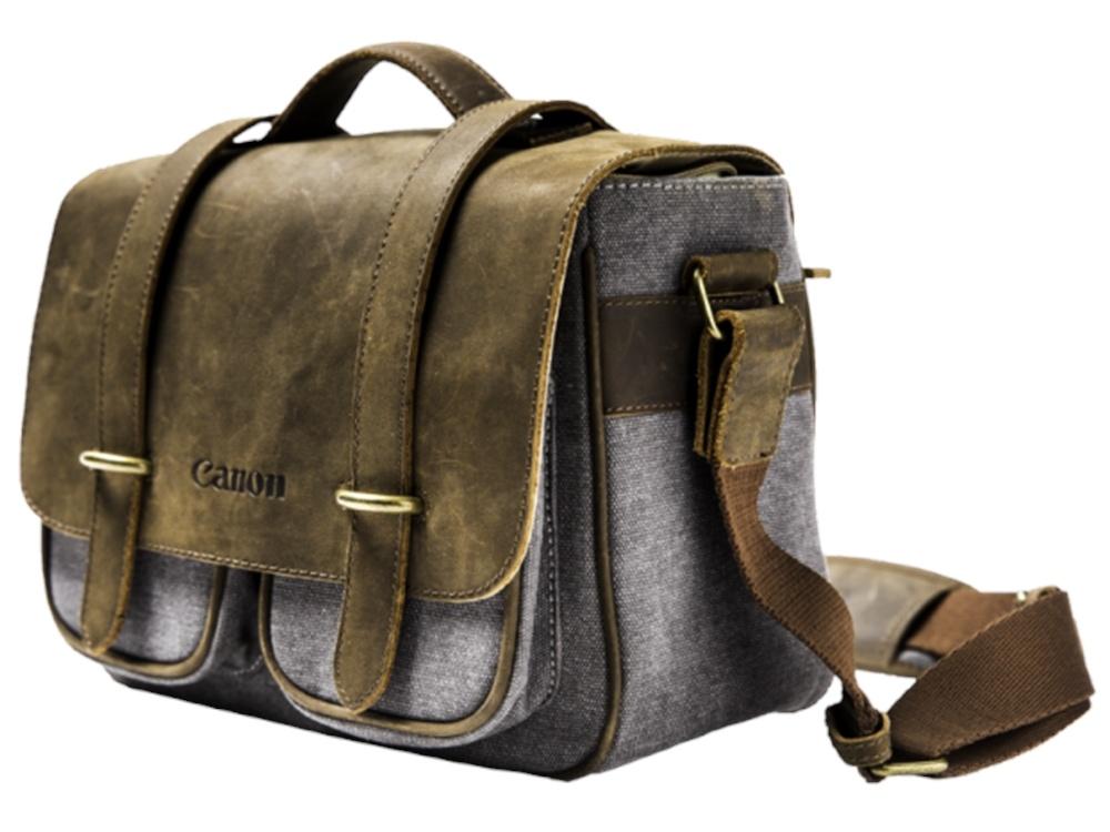 Canon Brown & Grey Camera Bag (Small)