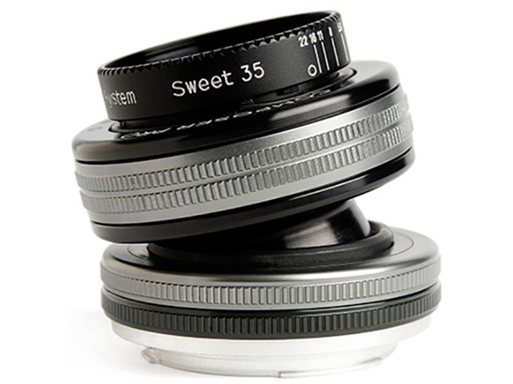 Lensbaby Composer Pro II with Sweet 35 Optic for Fuji X