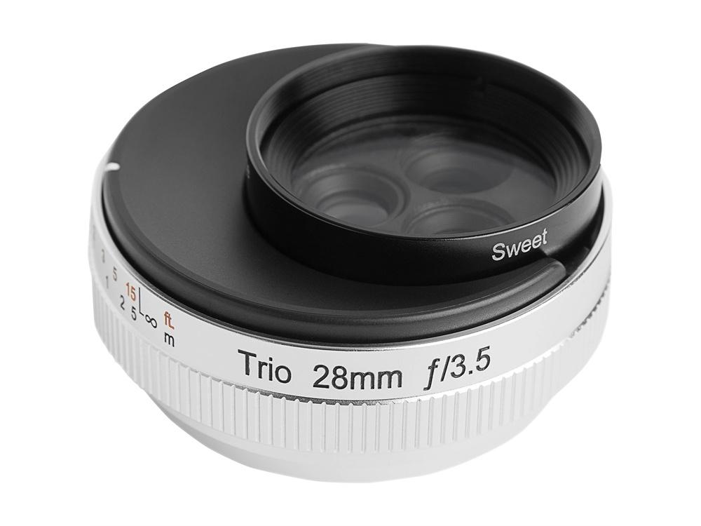 Lensbaby Trio 28mm f/3.5 Lens for Fujifilm X