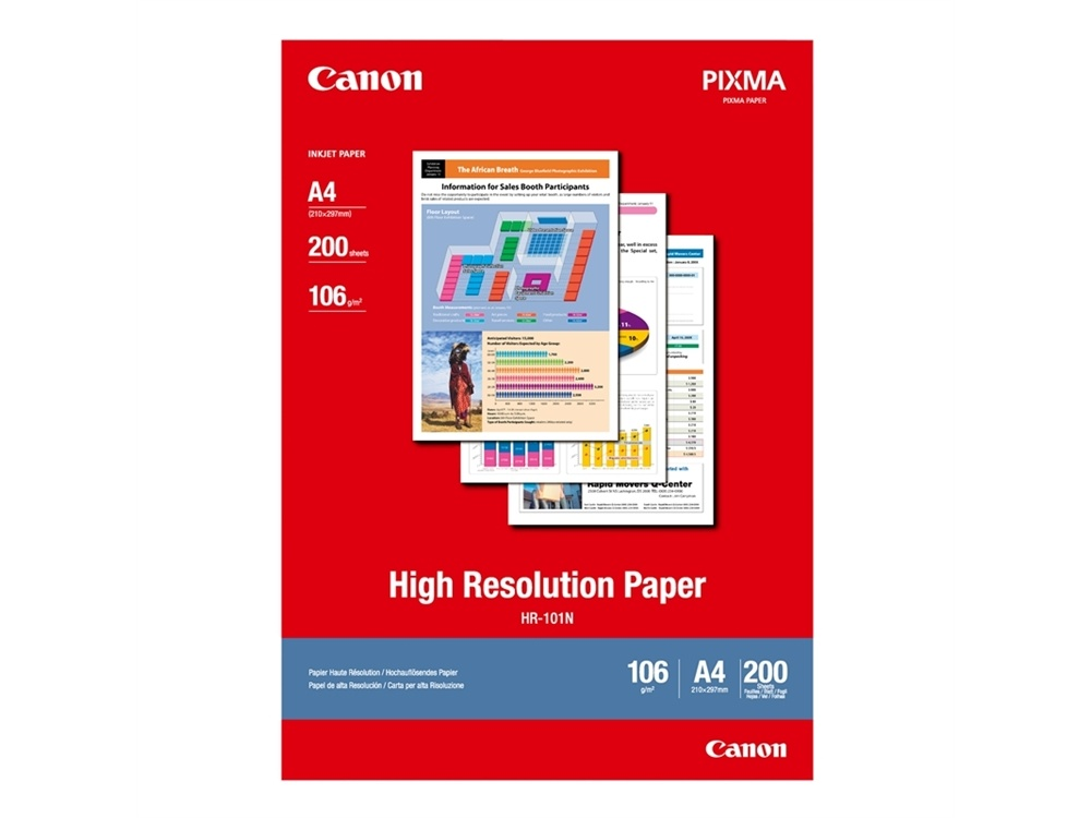 Canon A4 High Resolution Paper 110GSM (200)
