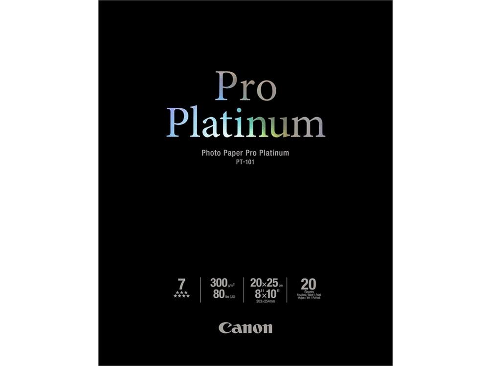 Canon genuine PT101A4-20-Photo Paper Pro Platinum