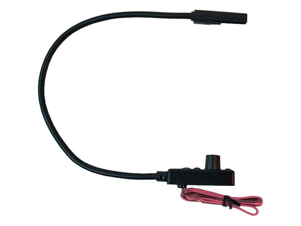 "Littlite CC-EB12-LED-AW 12"" End Mount Gooseneck LED Task Light with Automotive Wiring"