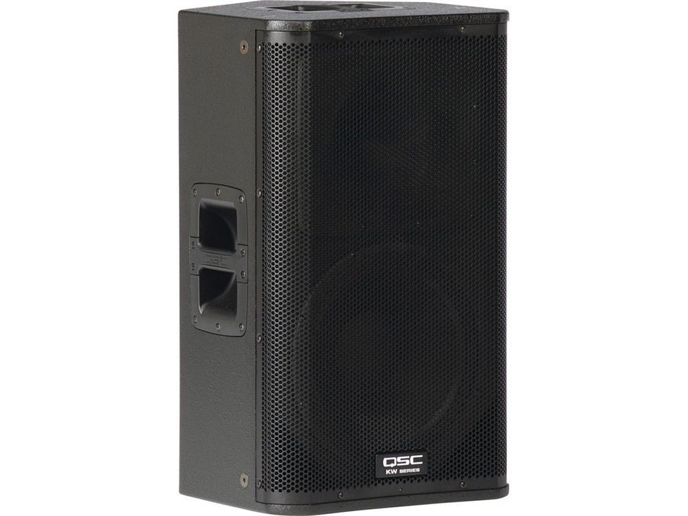 "QSC KW122 1000W 12"" Active 2-Way Loudspeaker/Stage Monitor"