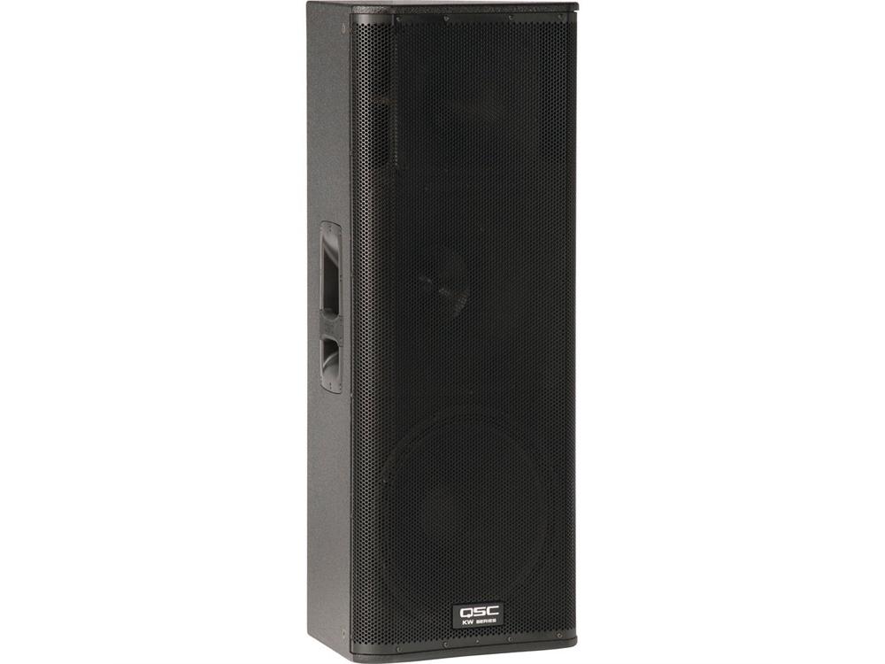 """QSC KW153 1000W 15"""" Active 3-Way Loudspeaker"""