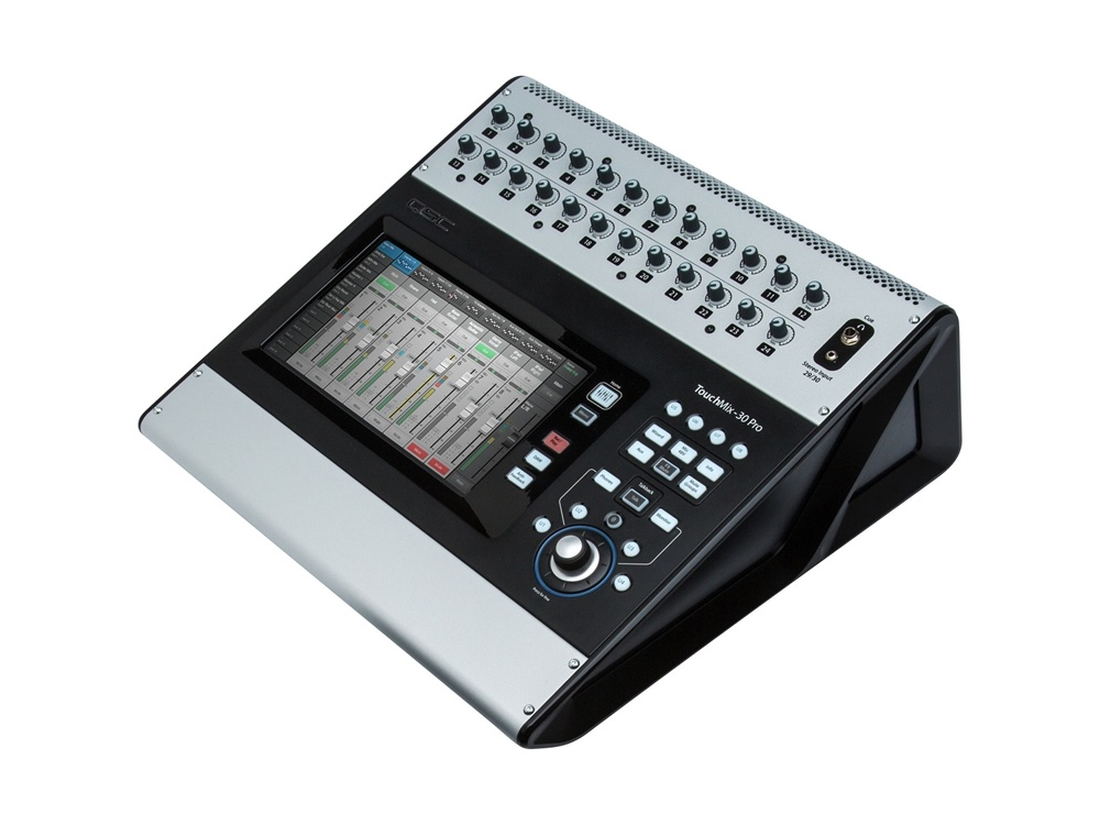 QSC TouchMix-30 Pro 32-Channel Compact Digital Mixer With Touchscreen