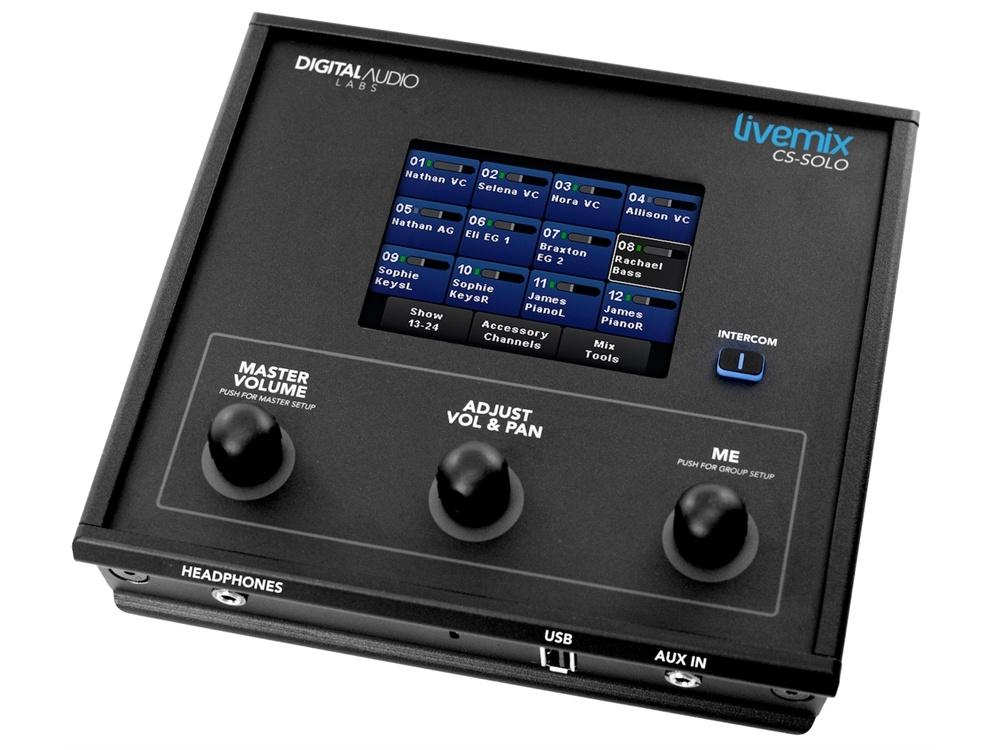Livemix CS-SOLO Personal Mixer