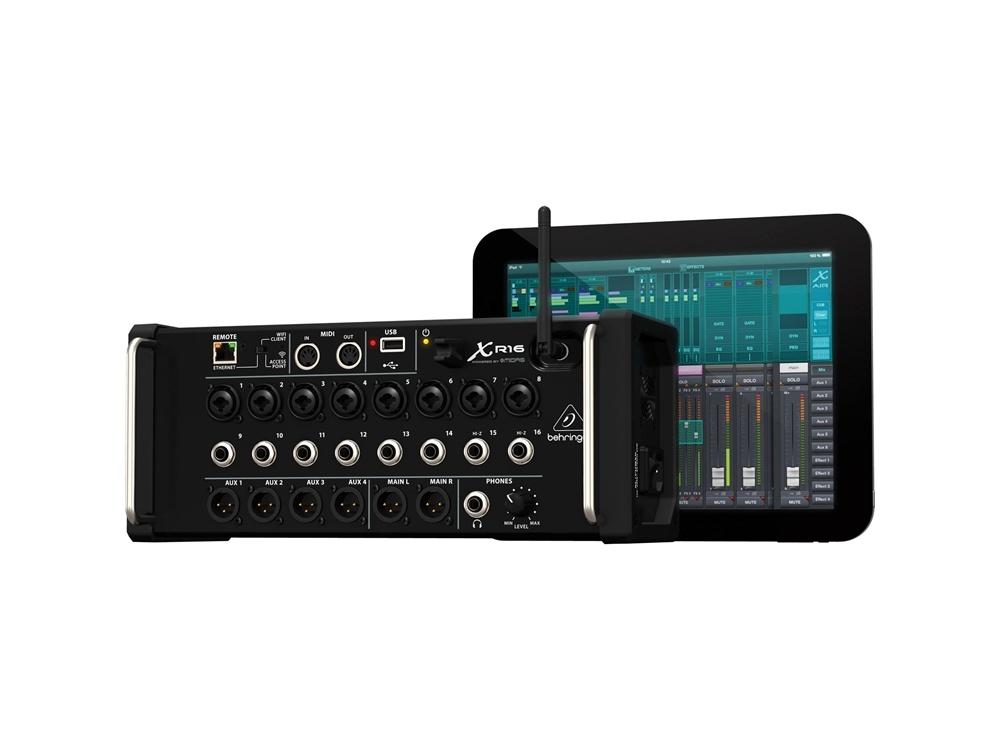 Behringer X-Air XR16 16-Input Digital Mixer