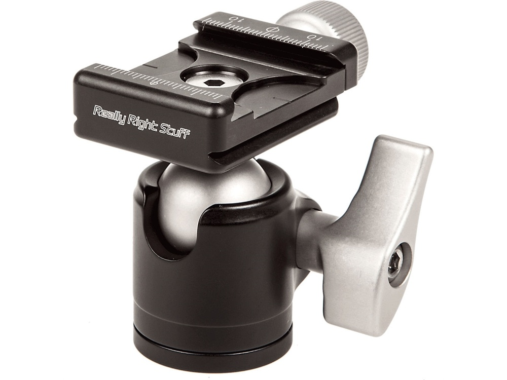Really Right Stuff BH-25 Ball Head with Screw-Knob Clamp
