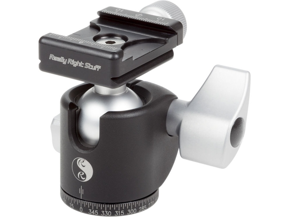 Really Right Stuff BH-30 Ball Head with Mini Screw-Knob Clamp