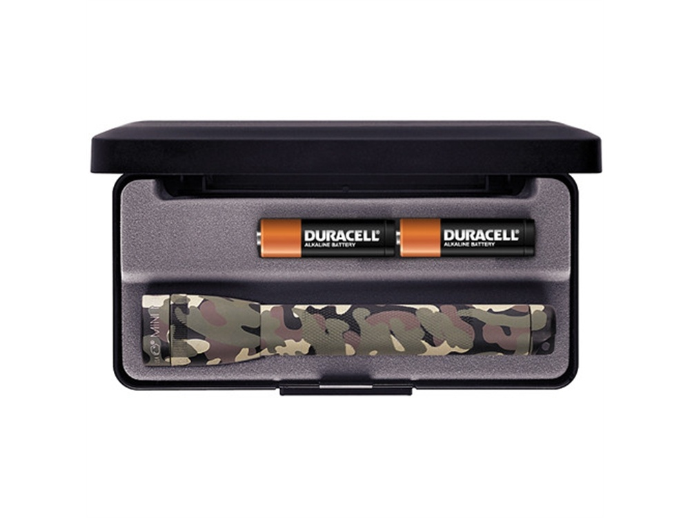 Maglite Mini Maglite 2-Cell AA Flashlight with Presentation Box (Camo)