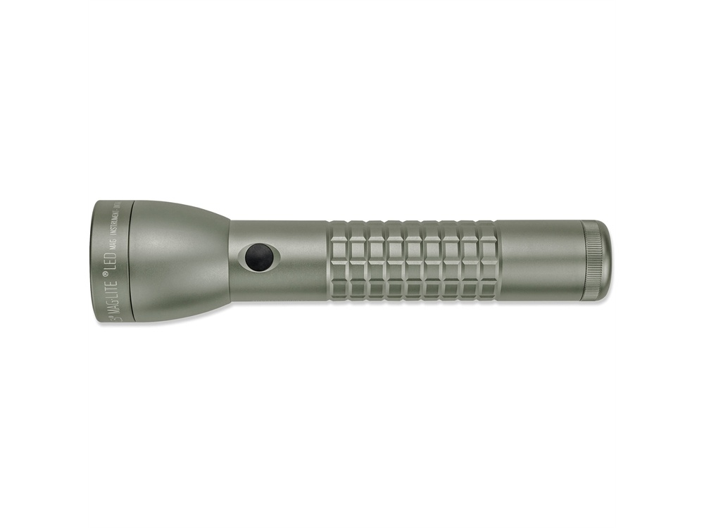 Maglite ML300LX 2-Cell D LED Flashlight (Foliage Green Matte, Clamshell Packaging)