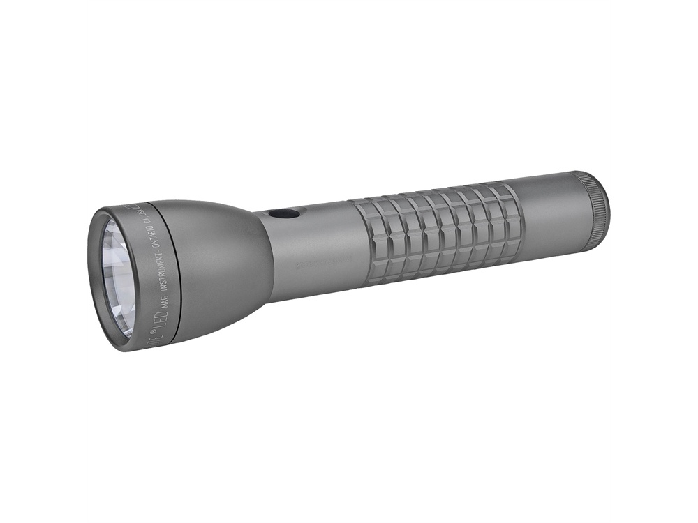 Maglite ML300LX 2-Cell D LED Flashlight (Urban Gray Matte, Clamshell Packaging)