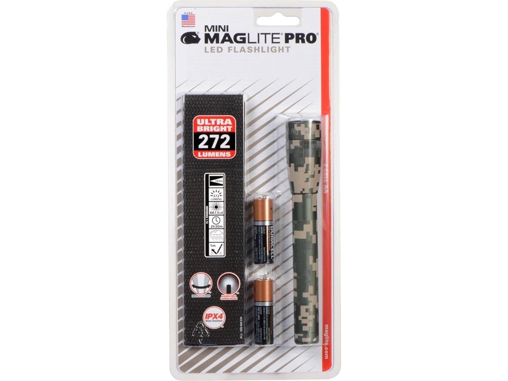 Maglite Mini Maglite Pro 2AA LED Flashlight with Holster (UCP Camo)