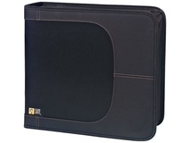 Case Logic CDW-320 320 Capacity CD Wallet (Black)