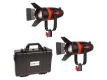 CAME-TV Boltzen 55W Focusable LED Fresnel 2-Light Kit
