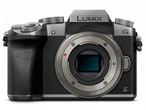 Panasonic Lumix DMC-G7 Mirrorless Micro Four Thirds Digital Camera (Silver Body)