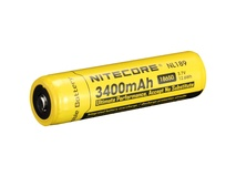 Nitecore NL1834 Li-Ion Rechargeable Battery 18650 (3.7V, 3400mAh)
