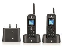 Motorola Long Range Cordless Phone Twin Pack