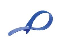 """Kupo MEZ220-BL EZ-TIE Simple Cable Ties 0.78 x 7.86"""" (2 x 20 cm) - 50 Pack, Blue"""