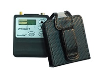 ORCA OR-311 Pouch with Belt Clip & Transparent Front for Zaxcom TRX-LA Series Transmitter