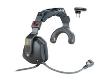 Eartec USMOTOSH Ultra Single Headset with Shell-Mount PTT & Motorola 2-Pin Connector