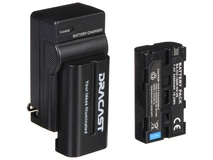 Dracast 2x NP-F 2200mAh Batteries and Charger Kit