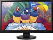 "ViewSonic VA2046m-LED 19.5"" 16:9 1600x900 LED 5ms Monitor"