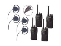 Eartec Scrambler SC-1000 Plus 2-Way Radio & Loop Headset 4-Person System