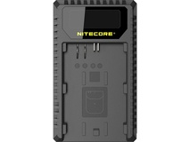 NITECORE UCN1 Dual-Slot USB Travel Charger for Canon LP-E6, LP-E6N, and LP-E8